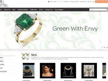 Sqjewellery.com - opencart based jewellery store in UK