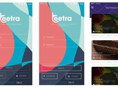 Teetra Mobile Apps