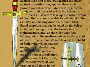 The Full Armor of God - Ephesians 6:10-18