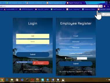 php web app