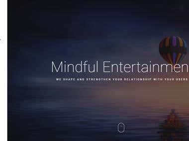 Wordpress website design - http://mindful.thegloud.com