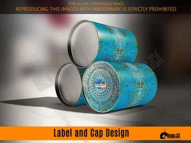 Label and Cap Design