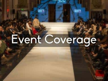 Event Coverage (Photography and Video)