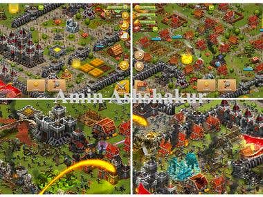 Strategy Game: COC Clone
