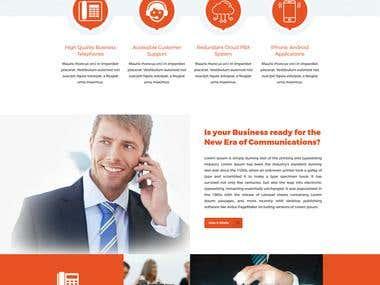 Website for Foxtel VOIP