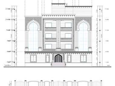 Exterior Work Architectural Drawing - My Design