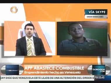 In a Tv tech show in Venezuela