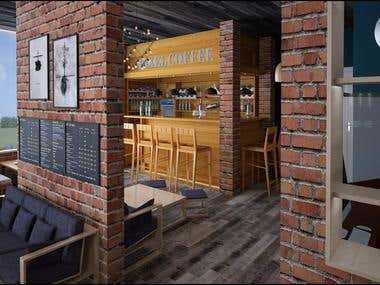 interior design and exterior desin by 3dsMax
