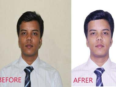 Photoshop Background removal task