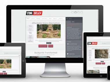 Web development Responsive Website