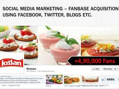 Social Media Marketing - Facebook, Twitter, Youtube, Instagr