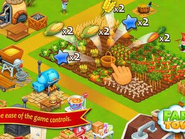 Farm Town - Cookie Day