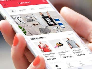Online Store iOS Application