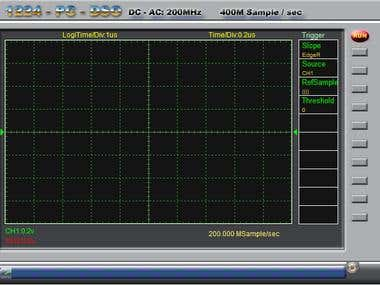 Embedded System Design(Oscilloscope Design for PC)