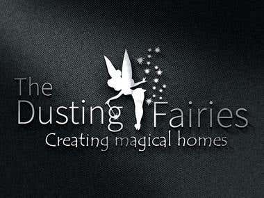 Home Cleaning Service Provider Logo Design