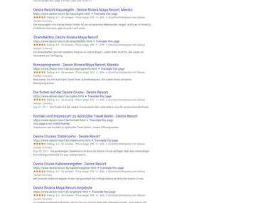 Price & star ratings below URLs in SERP (Static Site)
