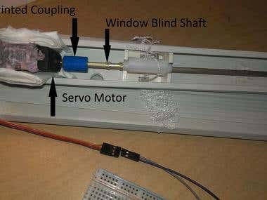 Smart Window Blinds Concept