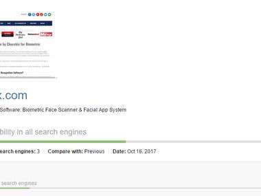 Ranking of Churchix & Face-six website
