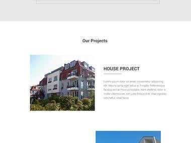 Wemulux Architecture Website design.