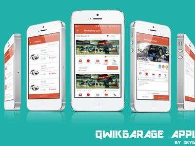 Qwikgarage app