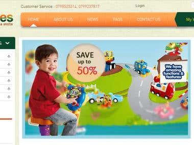 Joomla eCommerce Website