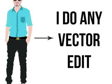 I will do awsome vector edit