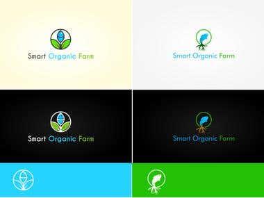 smart organic farm logo