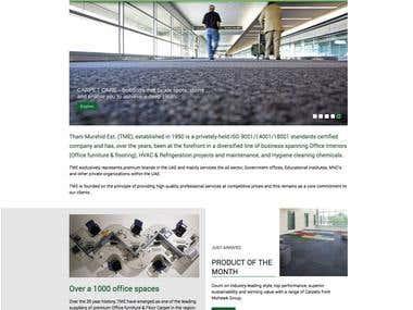 Web site of Thani Murshid Associates