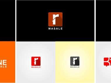 r one masala logo
