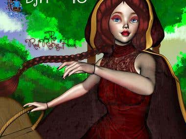 Day 10 - Fairy-tale RRH - The Red Riding Hoodo...