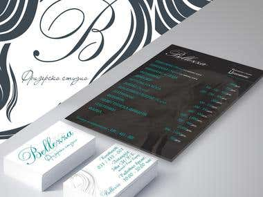 Print Design, Business card Design, Menu Design