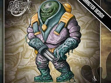 Rolltown freaks character design