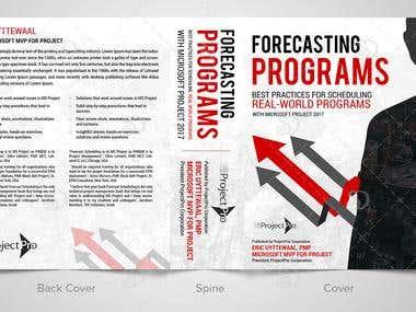 Book Cover Design for Forecasting Programs