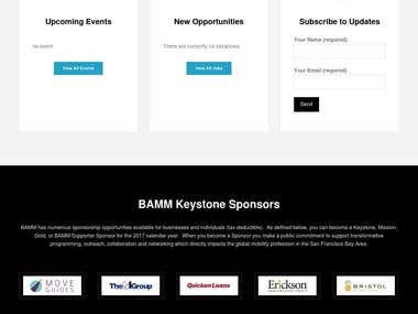 Bay Area Mobility Management (BAMM) is the premier forum for