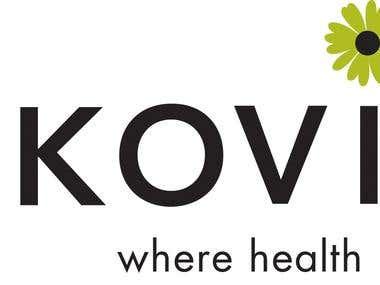 Logo for a healthcare company