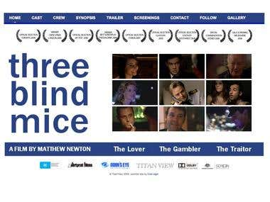 """Three Blind Mice"" Web Site"