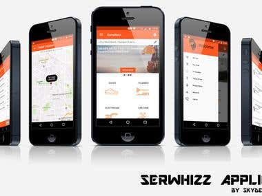 Serwhizz android app | book home services online