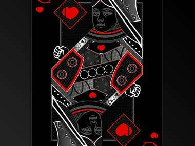 Poker Cards - Illustration