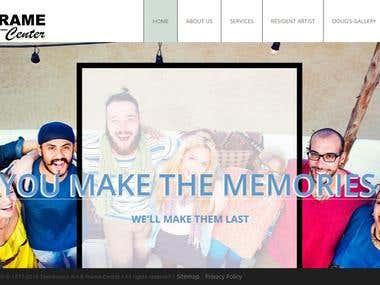 Townhouse Art Frame Center Picture Framing, Digital Printing