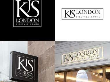 LOGO DESIGN FOR KJS LONDON, UK.