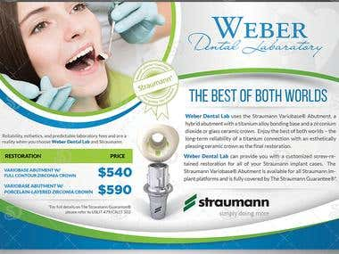 Flyer Design for Weber