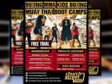 Design Brochure for Church Street Boxing