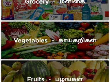 Hyperlocal Shopping Android App