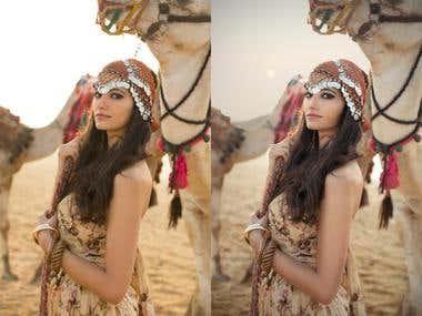 Egypt Fashion Shoot