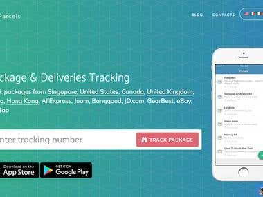 Parcels - Package Tracking Web App