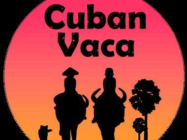 Logo Design for Cuban Vaca