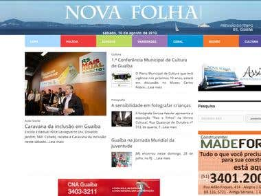 Newspaper Nova Folha