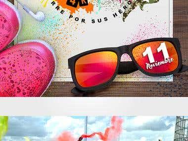 Carrera Caquetà Amazonia The Army Color Run 4k