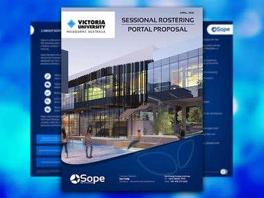 Design Proposal for Victoria University Astrali