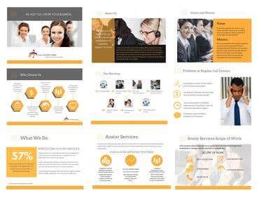 Presentation for a Call Center Company